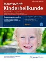 Monatsschrift Kinderheilkunde 8/2016