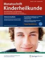 Monatsschrift Kinderheilkunde 9/2016