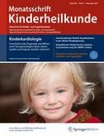 Monatsschrift Kinderheilkunde 11/2017