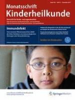 Monatsschrift Kinderheilkunde 12/2017