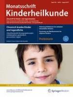 Monatsschrift Kinderheilkunde 8/2017