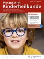 Monatsschrift Kinderheilkunde 10/2018