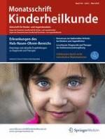 Monatsschrift Kinderheilkunde 3/2018