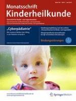 Monatsschrift Kinderheilkunde 6/2018