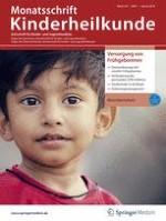 Monatsschrift Kinderheilkunde 1/2019