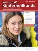 Monatsschrift Kinderheilkunde 12/2019