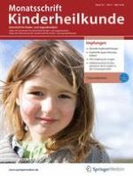 Monatsschrift Kinderheilkunde 3/2019