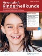 Monatsschrift Kinderheilkunde 4/2019