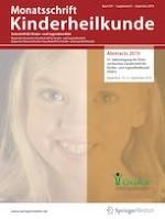 Monatsschrift Kinderheilkunde 5/2019