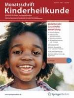 Monatsschrift Kinderheilkunde 7/2019