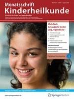 Monatsschrift Kinderheilkunde 8/2019