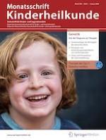 Monatsschrift Kinderheilkunde 1/2020