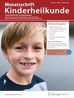 Monatsschrift Kinderheilkunde 10/2020