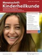 Monatsschrift Kinderheilkunde 11/2020