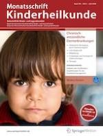 Monatsschrift Kinderheilkunde 4/2020