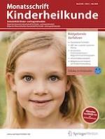 Monatsschrift Kinderheilkunde 5/2020