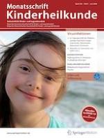 Monatsschrift Kinderheilkunde 6/2020