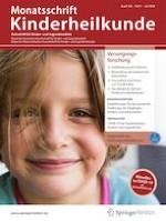 Monatsschrift Kinderheilkunde 7/2020