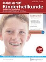 Monatsschrift Kinderheilkunde 8/2020