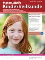 Monatsschrift Kinderheilkunde 9/2020