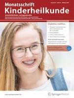 Monatsschrift Kinderheilkunde 10/2021