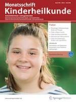 Monatsschrift Kinderheilkunde 5/2021