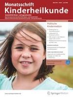 Monatsschrift Kinderheilkunde 6/2021