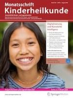 Monatsschrift Kinderheilkunde 8/2021