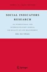 Social Indicators Research 1/2011