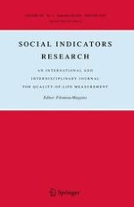 Social Indicators Research 3/2016