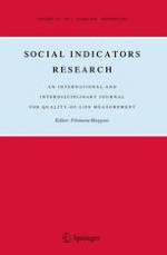 Social Indicators Research 1/2016
