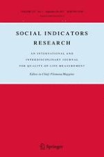 Social Indicators Research 3/2017