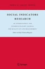 Social Indicators Research 1/2017