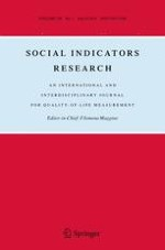 Social Indicators Research 1/2018