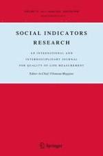 Social Indicators Research 3/2018