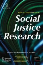Social Justice Research 1/2011