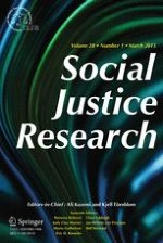 Social Justice Research 1/2015