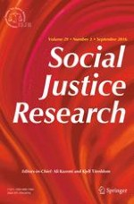 Social Justice Research 3/2016