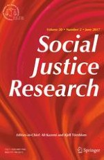 Social Justice Research 2/2017