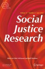 Social Justice Research 2/2018