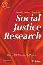 Social Justice Research 4/2019