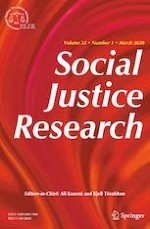 Social Justice Research 1/2020