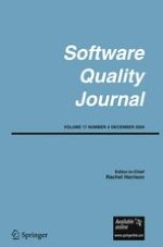Software Quality Journal 4/2009