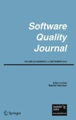 Software Quality Journal 3-4/2012