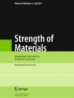 Strength of Materials 4/2017