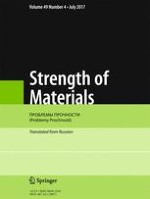 Strength of Materials 4/2017