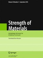 Strength of Materials 5/2018