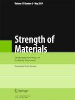 Strength of Materials 3/2019
