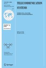 Telecommunication Systems 1-3/2006