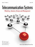 Telecommunication Systems 3/2020